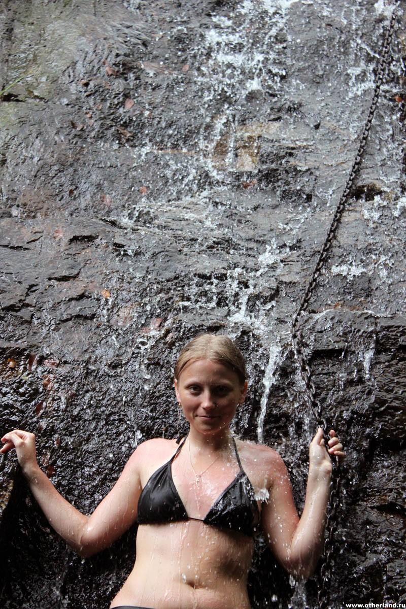 Хайнань. Янода. Аня, цепь, водопад.