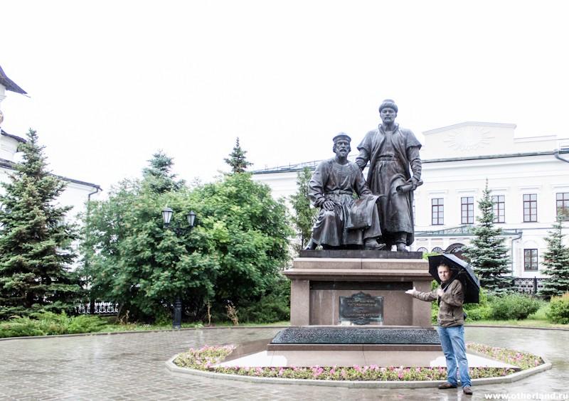 Казань. Кремль. Памятник зодчим.