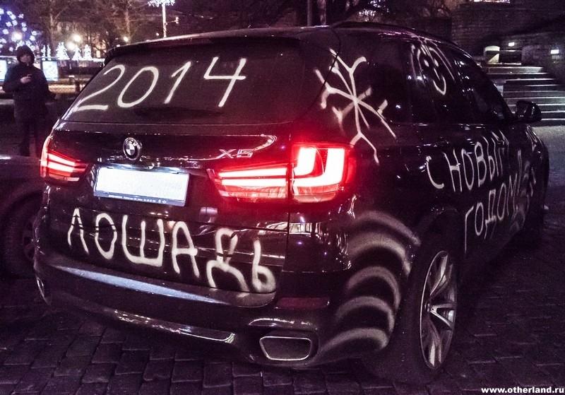 БМВ Х5 в раскраске 2014 :)